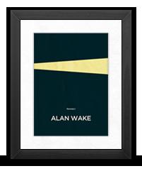 Minimalist Alan Wake Poster