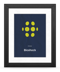 Minimalist Bioshock Poster