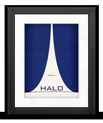 Minimalist Halo Poster