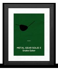 Minimalist Metal Gear Solid 3 Poster
