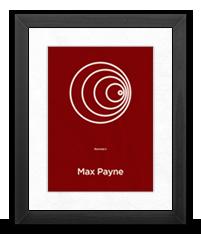 Minimalist Max Payne Poster