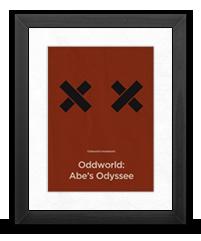 Minimalist Oddworld Poster