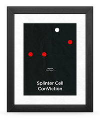 Minimalist Splinter Cell Conviction Poster