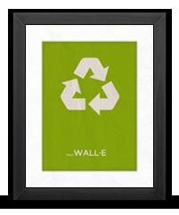 Minimalist Wall E Poster